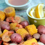 Shrimp and Red Potato Boil (Low Country Boil) #BetterWithReds #SummerFood