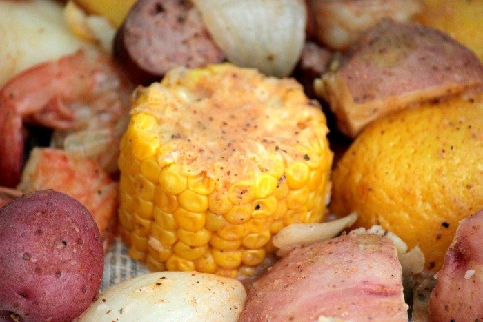 CORN AND RED POTATOES