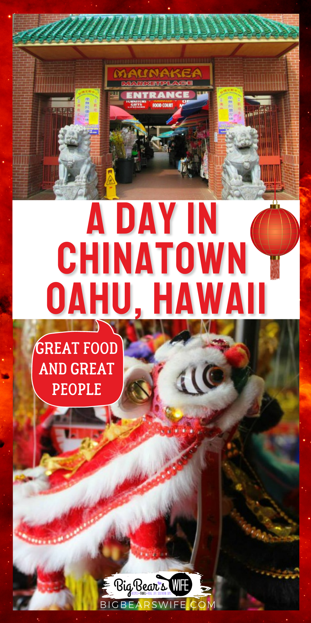 A day in Chinatown Honolulu, Oahu, Hawaii! We got a chance to visit Chinatown when we were in Hawaii for our Anniversary and these are some of the places that we were able to visit! Maunakea Marketplace, Pork Hash, Mai tai Soo, Kekaulike Market and more! via @bigbearswife