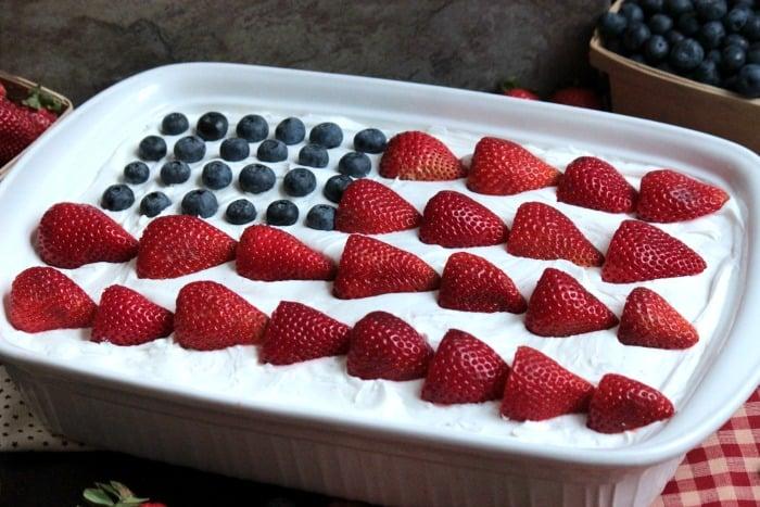 USA Flag Eclair