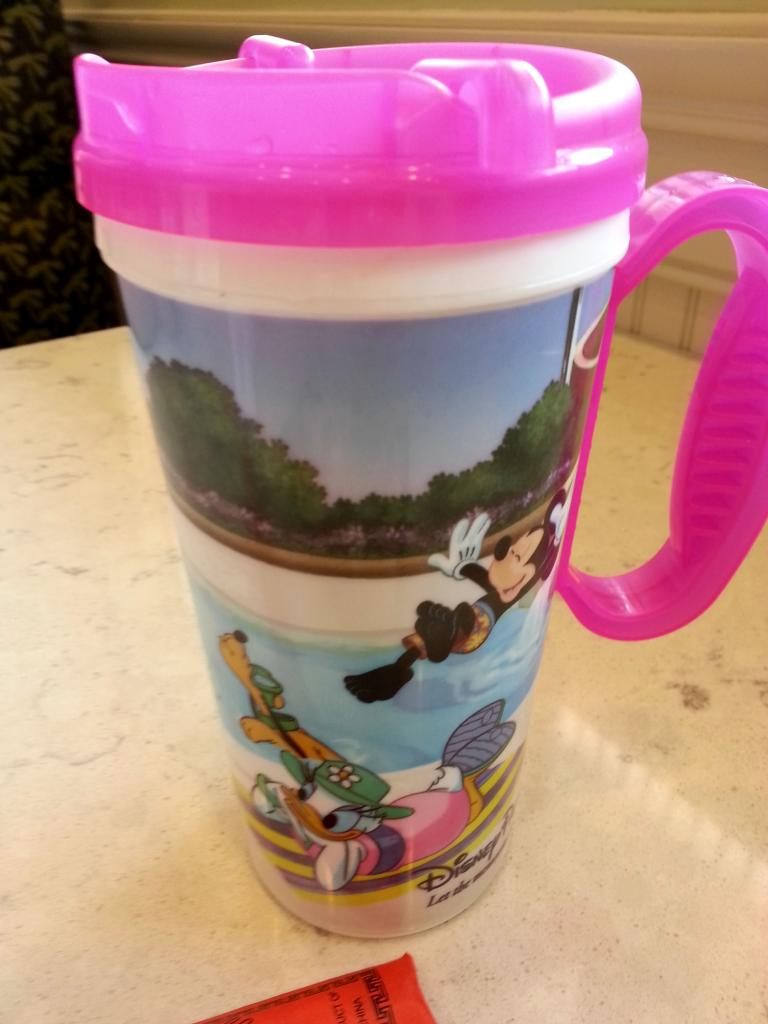 Refillable Disney Mugs!