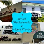 4 Great Places to Eat in Miami, Florida