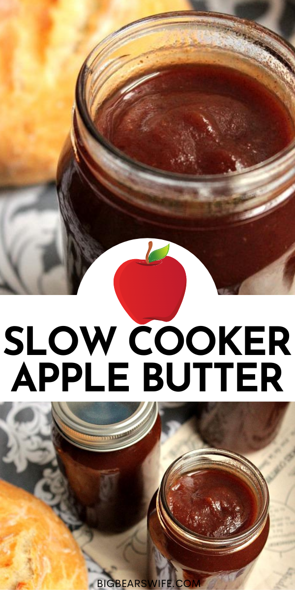 This Slow Cooker Apple Butter is just perfect on homemade buttermilk biscuits! It would make a great gift too! Just bottle it up and send it on it's way!