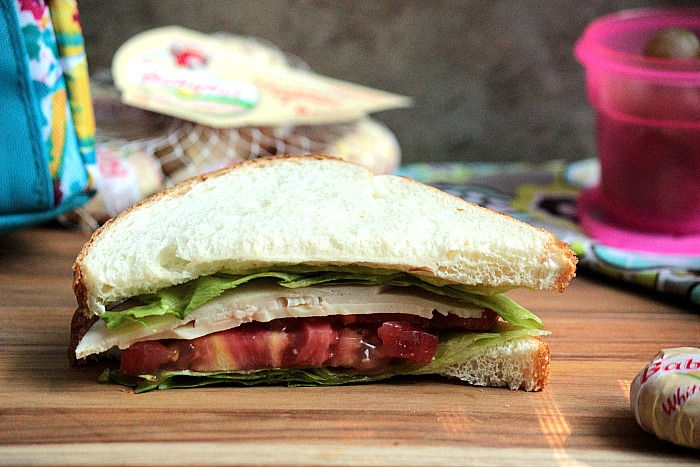 Oven Roasted Chicken Sandwich - Alyssa's Lunch Idea - Healthy Back to School Lunch Ideas