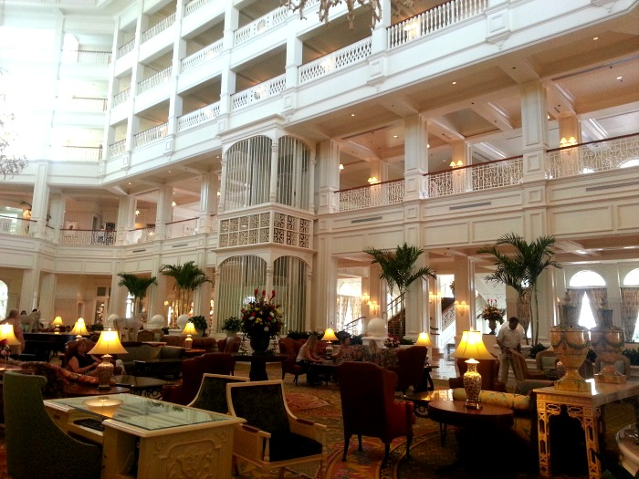 The Lobby at Disney's Grand Floridian Resort & Spa