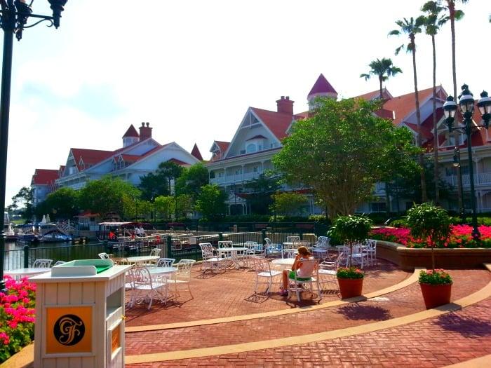 Patio at Disney's Grand Floridian Resort & Spa
