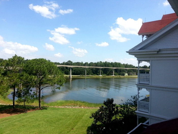 View from our room at Disney's Grand Floridian Resort & Spa
