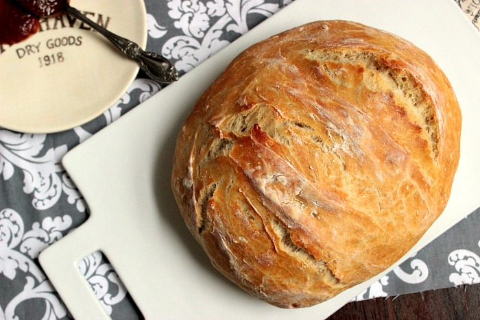 Homemade Artisan Style Bread - Big Bear's Wife