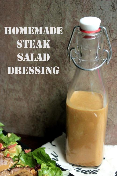 Homemade Steak Sauce Salad Dressing