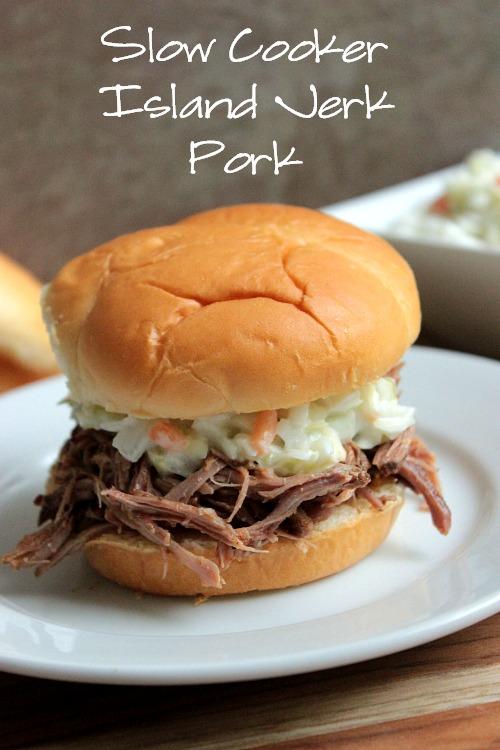 Slow Cooker Island Jerk Pork