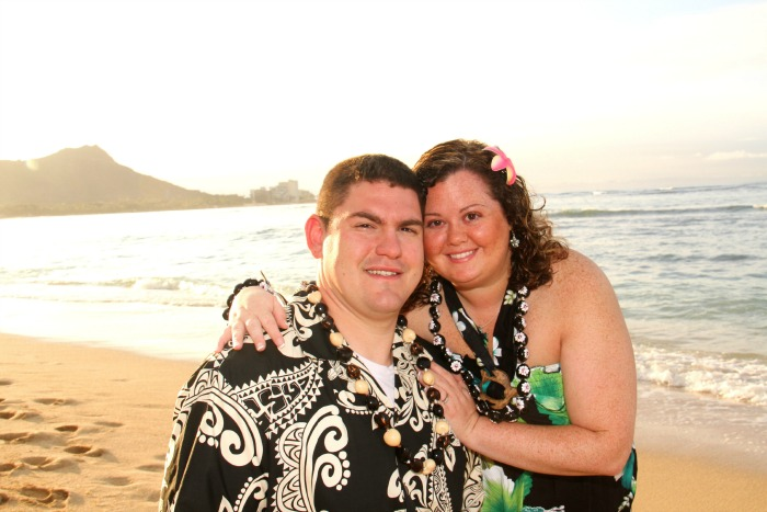Celebrating 7 years of Marriage - Renewing Our Vowels in Hawaii