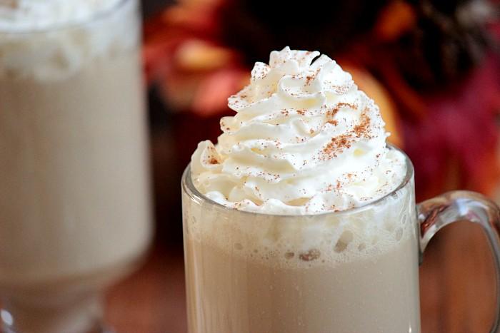 Homemade Vanilla Chai Latte