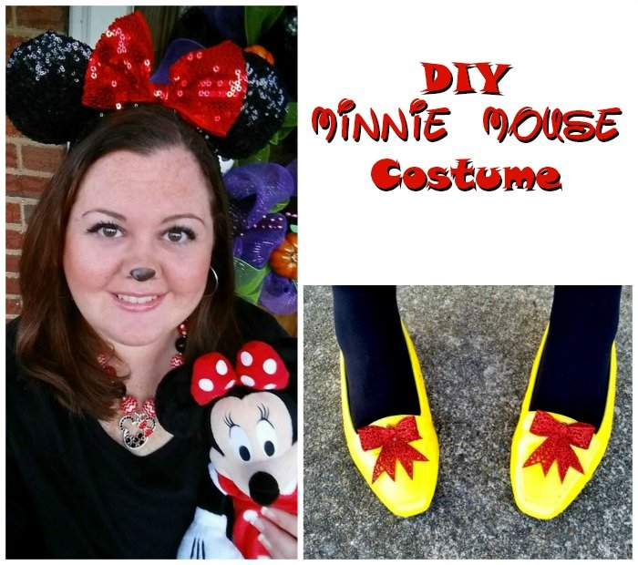 DIY Minnie Mouse Costume  sc 1 st  Big Bearu0027s Wife & DIY Minnie Mouse Costume - Big Bearu0027s Wife