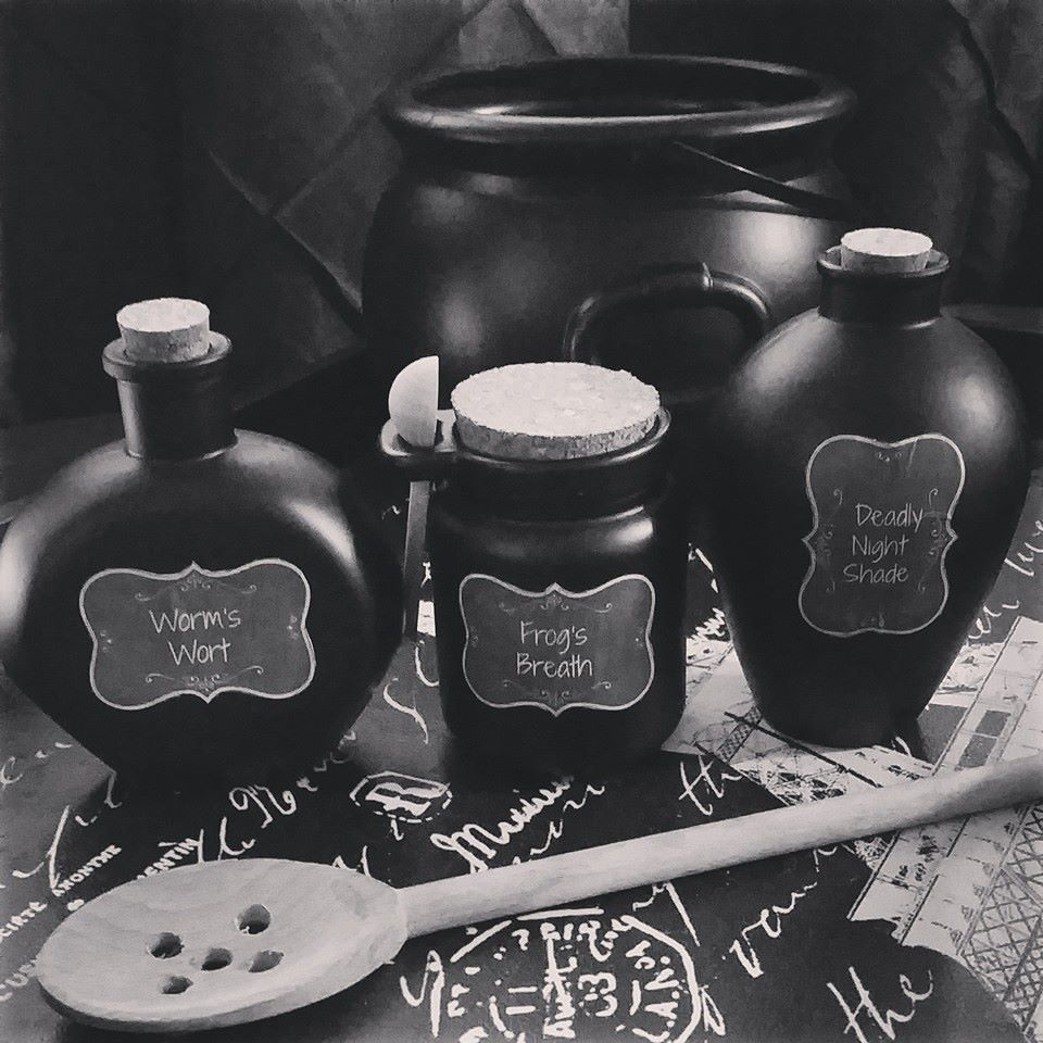 Sallys Potion Bottles from the Nightmare before Christmas