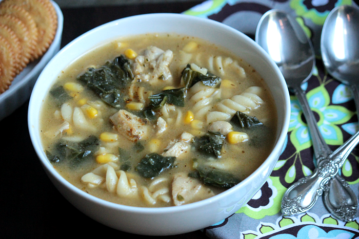Homemade Chicken and Vegetable Noodle Soup