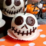 Jack Skellington Chocolate Apples – Chocolate Covered Apples