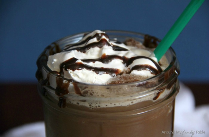 Mocha Frappuccino from Around My Family Table