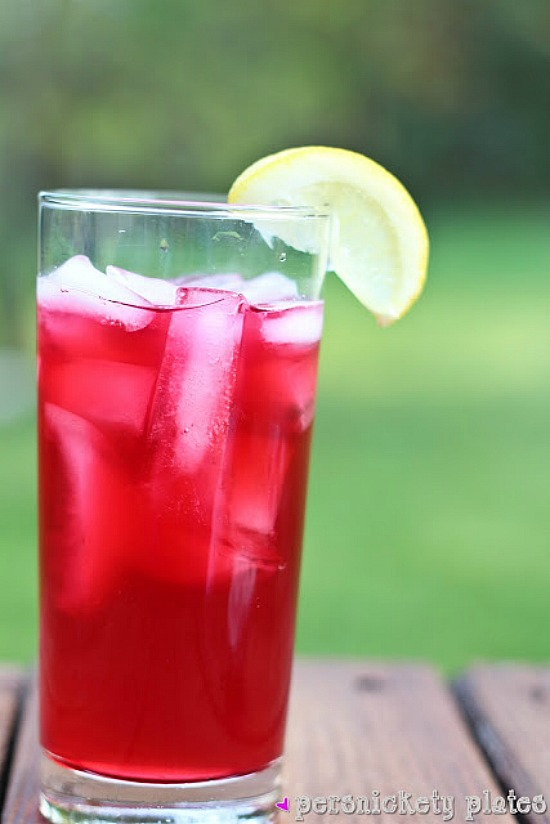 Passion Tea Lemonade from Persnickety Plates