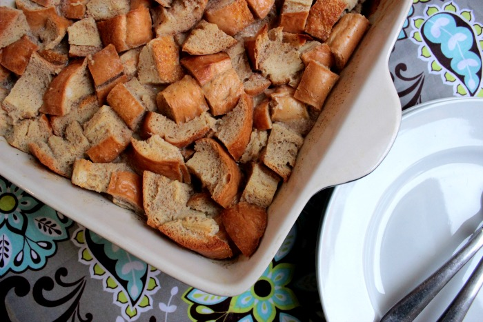 Baked Pumpkin Spice French Toast