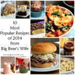 10MostPopularRecipesof2014