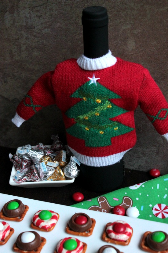 Ugly Sweater for a Wine Bottle
