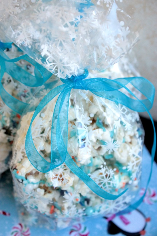 Bagged Frozen Popcorn - Chocolate Popcorn