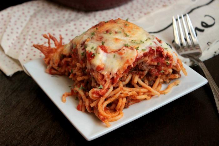 Mom Approved - Spaghetti Sandwich Bake