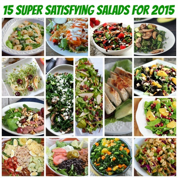 15 Super Satisfying Salads for 2015
