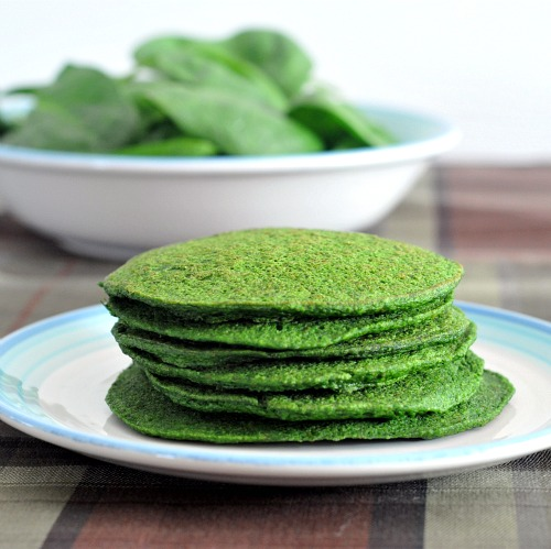 Spinach Pancakes from Spabettie