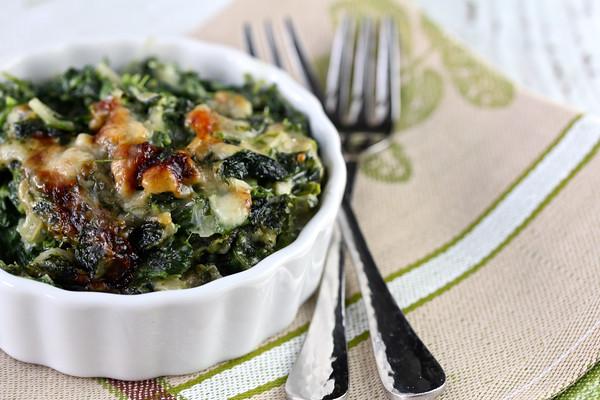 Spinach Gratin from Karen's Kitchen Stories