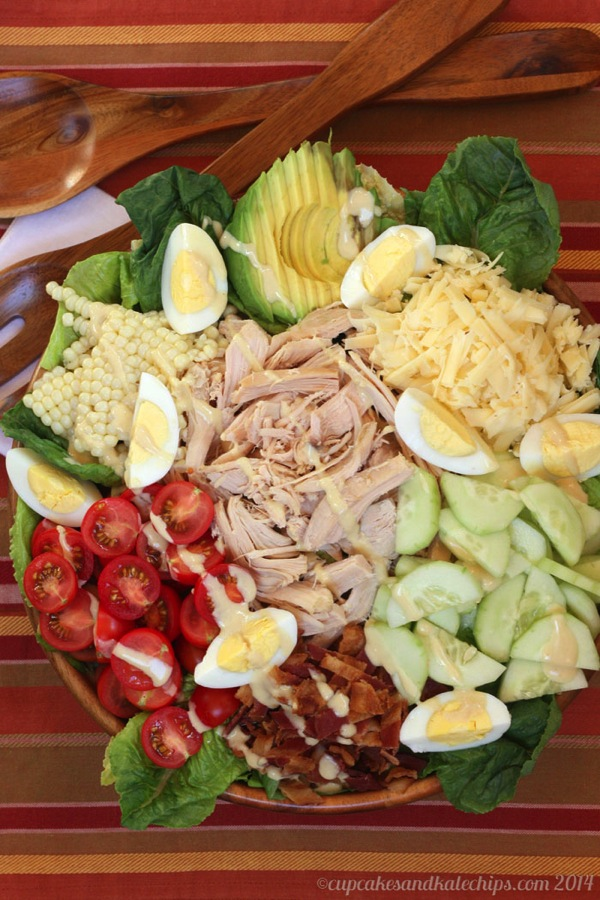 Ultimate Cobb Salad  from Cupcakes and Kale Chips