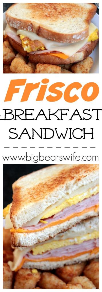 Frisco Breakfast Sandwich