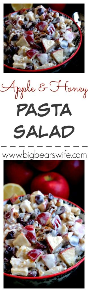 Apple and Honey Pasta Salad #RubyFrost
