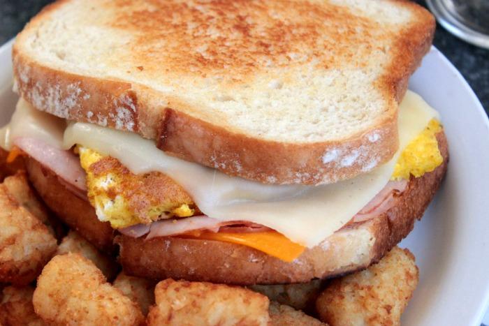 Frisco Breakfast Sandwich #BigBearintheKitchen
