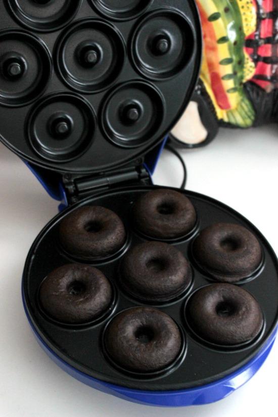 Making Mini Rocky Road Donuts