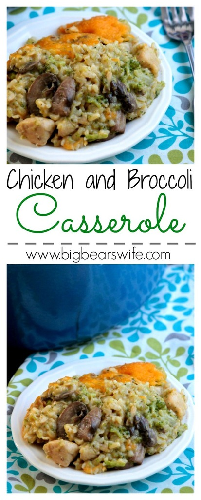 Chicken and Broccoli Casserole #12bloggers