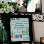 Free Printable St. Patrick's Day Subway Art