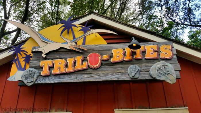 Trilo-Bites which is located in DinoLand USA in the Animal Kingdom