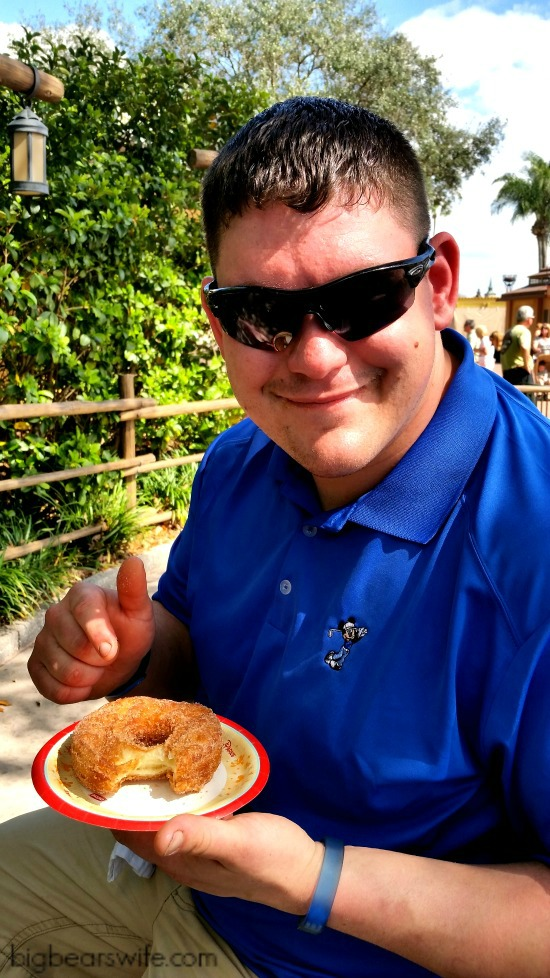 Croissant Doughnut and BigBear