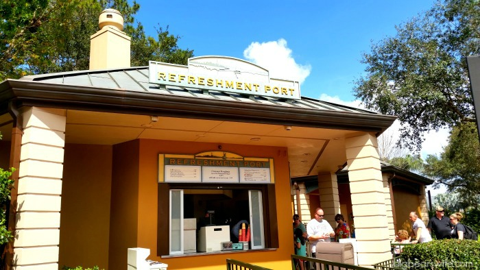 You can find Croissant Doughnuts at Refreshment Port in Epcot!