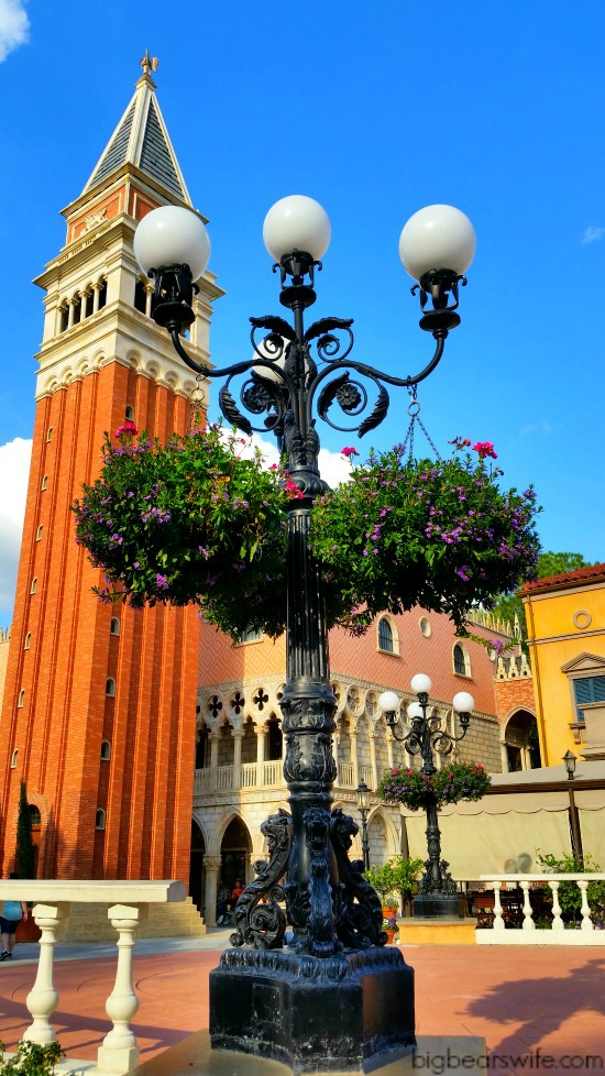 Italy Pavilion of Epcot's World Showcase!