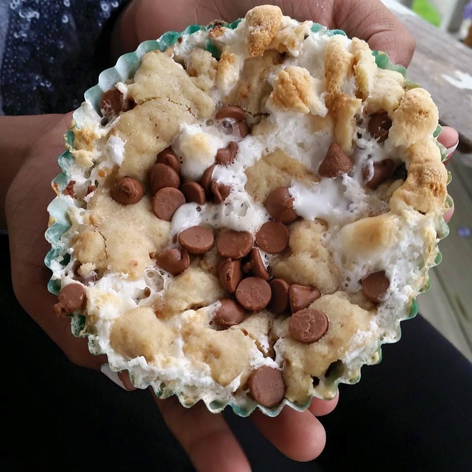 Mini Caramel S'more Pie