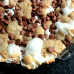 Caramel S'more Pie