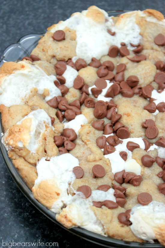 Caramel S'more Pie