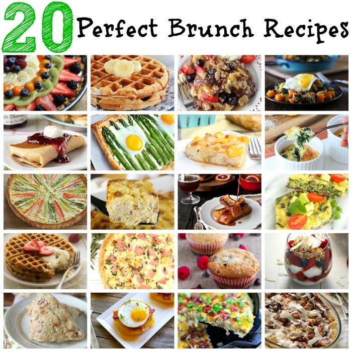 20 Perfect Brunch Recipes