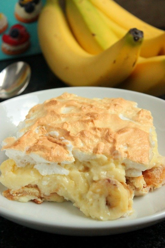 Homemade Southern Banana Pudding