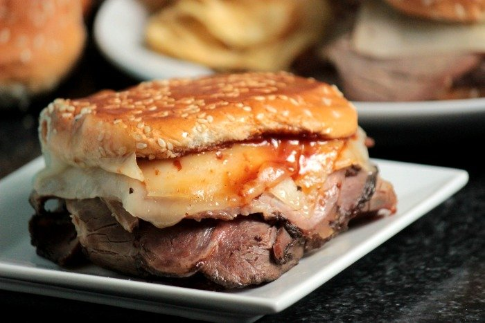 Roast Beef Grilled Cheese #12Bloggers