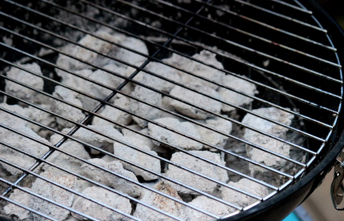 White Coals from the Fire for the Cheese Stuffed Bacon Burgers #12bloggers