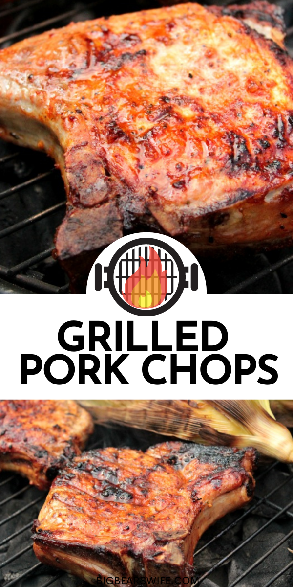 This recipe Grilled Pork Chops is simple to make and they don't dry out like some pork chop recipes!