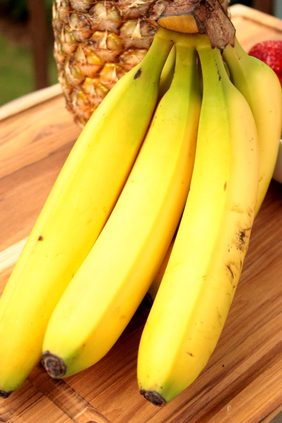 Bananas for Grilled Fruit Kabobs